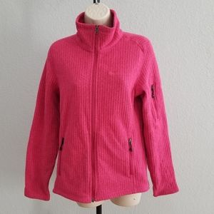Patagonia pink zip up jacket size Medium